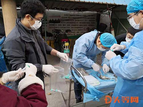 3.市疾控中心专业人员在现场采集鼠器官标本.jpg